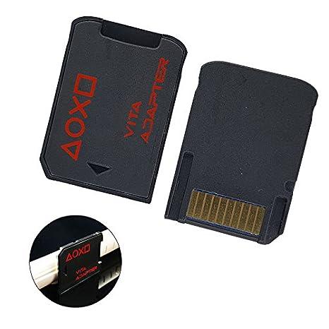 SD2VITA Adaptador PSVSD, Micro SD Adaptador para PS Vita Henkaku ...