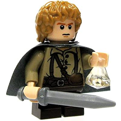 LEGO Lord of the Rings LOOSE Mini Figure Sam [Sword, Phial & Cloak]: Toys & Games