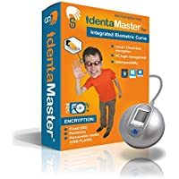 IdentaMaster Biometric Security Bundle with Integrated Biometrics The Curve - Software Included Encryption, Login for Windows 7/8/10