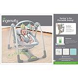 Ingenuity Swing 'n Go Portable Baby Swings - Hugs & Hoots