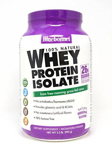 bluebonnet whey protein isolate powder