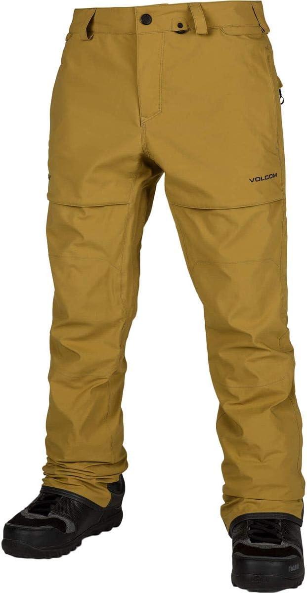 (ボルコム) Volcom Stretch Gore-Tex Pant メンズ スノーボード ウェア ビブ パンツResin ゴールド [並行輸入品] Resin ゴールド 日本サイズ XL相当 (US XL)