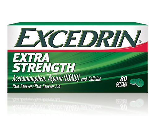 Excedrin Extra Strength Pain Relief Gel Tabs 80 count for Headache Relief ()