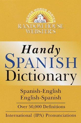 Diccionario español/inglés - inglés/español: Random House Webster