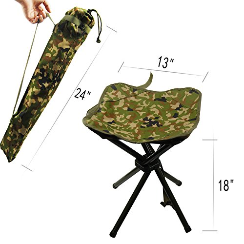 Portable Folding Stool Camping Outdoor Square Lightweight