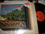 MARCHING WITH THE BEATLES BAND OF THE IRISH GUARDS VINYL RECORD LP TOWER RECORDS T-5046