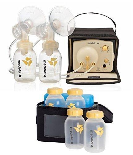 Medela Pump In Style Advanced Breastpump Starter Set-Model with Breastmilk Cooler Set by Medela