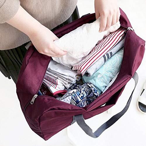 Black Crossbody Satchel,Business Bags Unisex Portable Travel Shoulder Bag WUDUBE Large Capacity Travel Sports Bag Holdall Tote