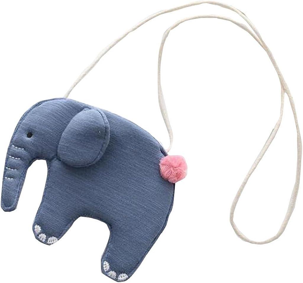 Elephant 2 Little Girls Crossbody Bag Shoulder Bag Children Mini Handbag