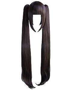 C-ZOFEK NEKOPAR Anime Chocolat/Vanilla Long Cosplay Wig (chocolat)