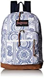 JanSport Unisex Right Pack Expressions Back Pack White Swedish Lace One Size