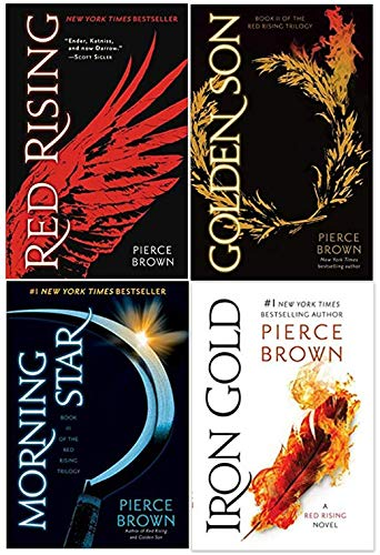 Red Rising Series Super Set Including Irong Gold, Moring