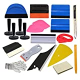 pro window tint tool kit - CARLAS Car Vinyl Wrap Tool Window Tint Kit for Vinyl Film Tinting Scraper Application