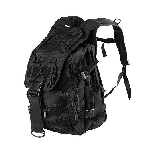 43ad4fcbd57fe ... broadroot Wasserdicht Outdoor Bag Camping Bergsteigen Reise Rucksack  Schule Computer Tasche schwarz Ig81oU7q ...