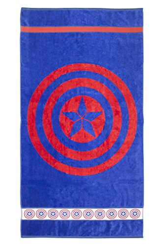 Marvel Heroes Captain America Shield 100% Cotton Terry Jacquard 34