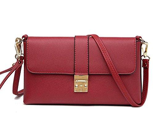red Quattro Diagonale pacchetto colori della NVBAO tracolla shopping croce quotidiano a borsa Borsa wine singola borsa turismo aTw40q