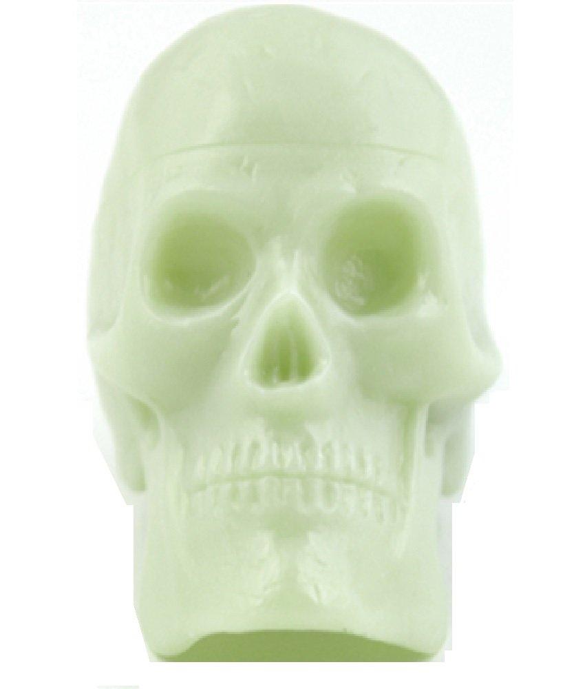 Bead Brain Glow In the Dark Skull Shakers -- Jar of 24 skulls