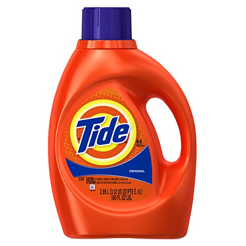 Tide Original Scent Liquid Laundry Detergent, 100 Fl Oz (Packaging May Vary) by Tide