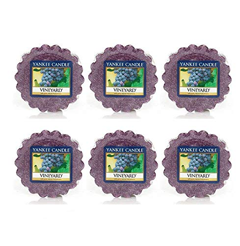 Yankee Candle Set of 6 Vineyard Tarts Wax Melts (Yankee Candle Tarts Set)