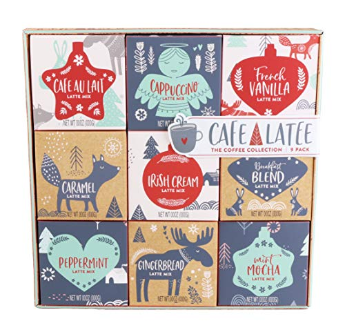 Thoughtfully Gifts, Coffee Variety Gift Set, Includes 9...