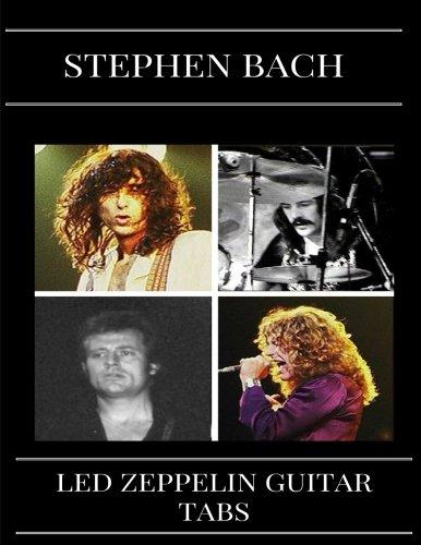 Books Tab Drum (Led Zeppelin Guitar Tabs: Led Zeppelin Sheet Music or Songbook/Chordbooks (Guitar Tablature Books))