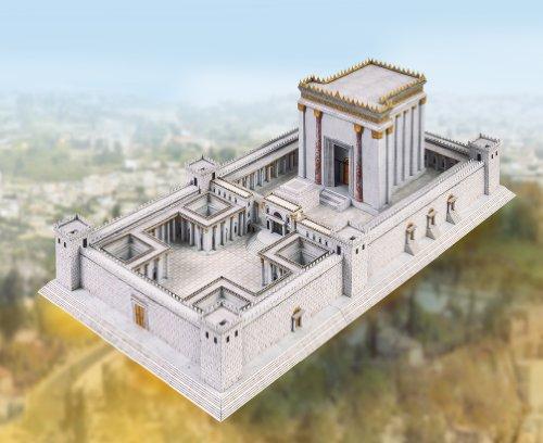 Schreiber-Bogen Card Modelling Temple in Jerusalem by Aue Verlag