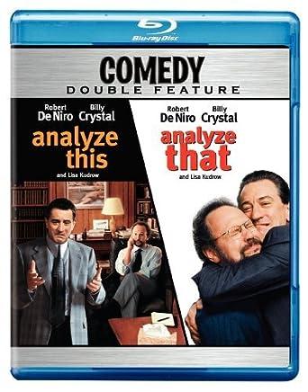 Amazon Com Analyze This Analyze That Double Feature Blu Ray Robert Deniro Billy Crystal Lisa Kudrow Joe Viterelli Harold Ramis Movies Tv