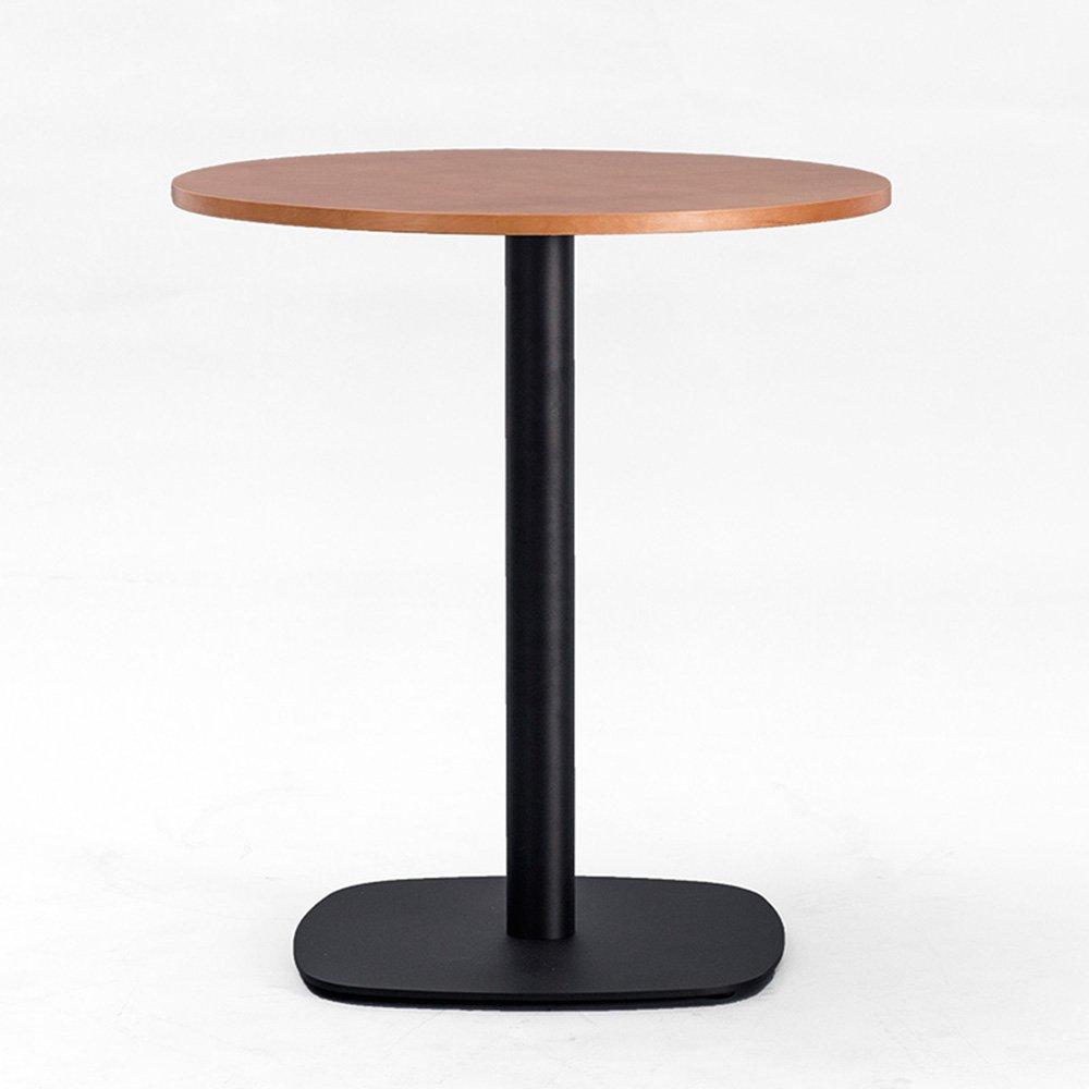 YD サイドテーブル サイドテーブル - ダイニングテーブルデスクモダン会議テーブルコーヒーラウンドテーブル交渉テーブルレセプションテーブル無垢材、3色 /& (色 : 02, サイズ さいず : 80*72cm) B07MJW139W 2 80*72cm