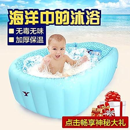 FACAI888 Baño inflable PVC inflable bañera bañera hinchable bebé ...