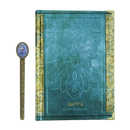 - Hardcover Notebook Journal Lined Paper Travel Diary College Ruled 256 Pages Vintage European Notepad Planner Composition Executive Notebook 7x5 with Bookmark for School Office Writing Kids Women Men