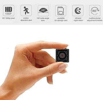 Khool® Mini Cámara Espía Oculta 1080P HD Cámara de Vigilancia ...