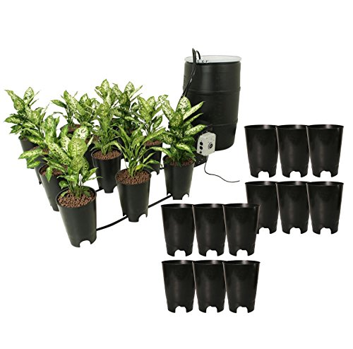 Active Aqua Grow Flow Ebb & Gro 12 Site Hydroponic System + (12) Expansion Pots -