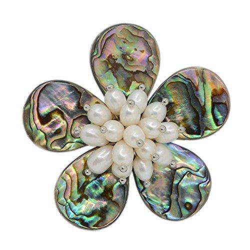 White Pearl Wrapped Bracelet - 9