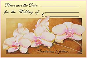 MagnaCard Cling It Up Save the Date, Wedding, 10 Cards/10 Envelopes (30023)