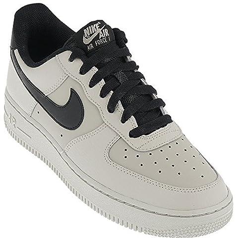 Nike Men's Air Force 1 Low '07 Basketball Shoe Pale Grey/Black 8