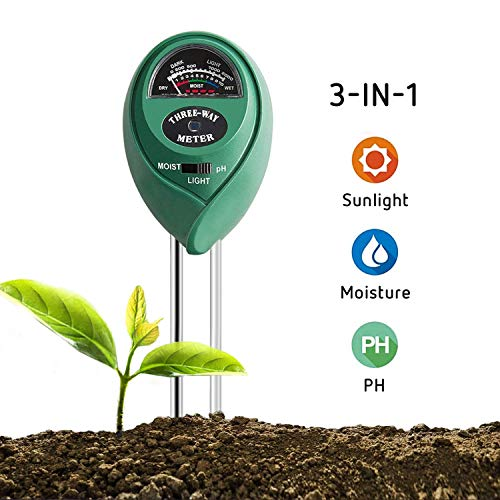 VIVOSUN Soil Tester 3-in-1