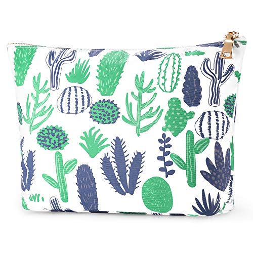 - FOREGOER Large Makeup Bag Clutch Pouch Cosmetic Toiletry Bag for Womens
