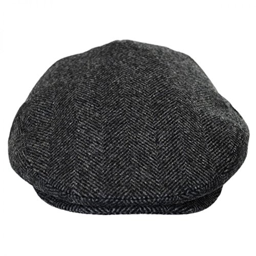 Baskerville Hat Company Coombe Herringbone English Wool Ivy Cap at Amazon  Men s Clothing store  b79d95127f8