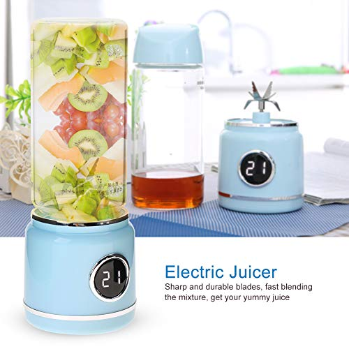 Electric Juicer, Sharp And Durable Electric Juicer Blender, Portable for Home And Sports Office, Car