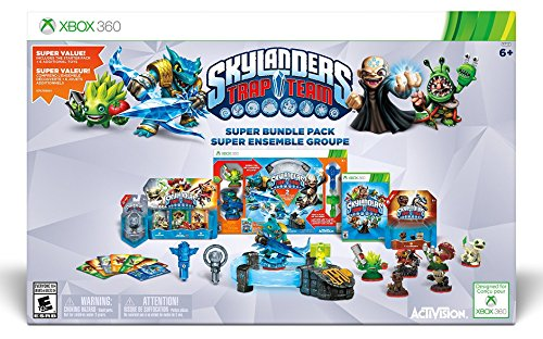 Skylanders Trap Team Holiday Bundle Pack - Xbox 360 (Bundle Pack Xbox 360)
