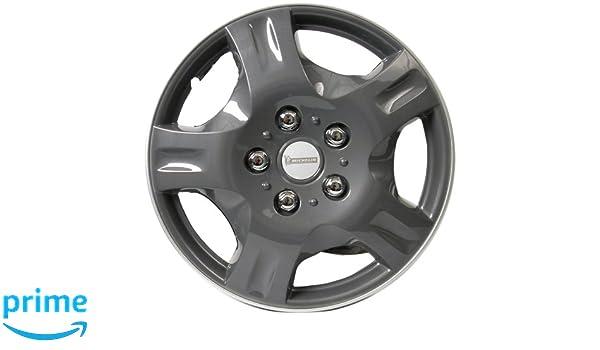 Michelin 0090 NVS 942 - Tapacubos (4 unidades), color gris 13
