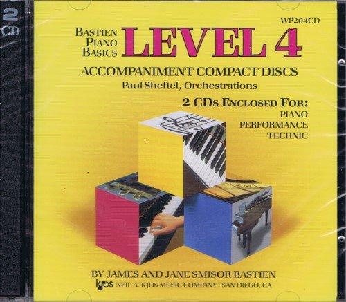 Bastien Piano Basics Level 4 Accompaniment Discs (Piano, Performance and Technic)