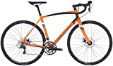 Raleigh Bikes Merit 2 Endurance Road Bike, Orange, 56cm/Large Raleigh Bikes