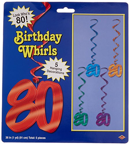 80 Whirls (asstd colors)    (5/Pkg)