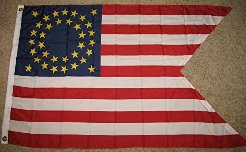 Union Cavalry Guidon Flag 3'x5' Mounted Troops Banner