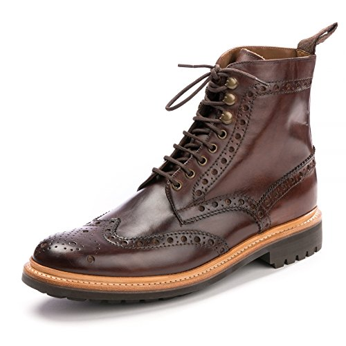 Grenson Fred Boots Dark Brown