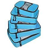 Bagpake 5 Set Packing Cubes-Travel Luggage -2 Extra large,2 Medium,1 Small
