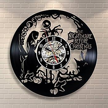 Amazon.com: The Nightmare Before Christmas Love Story Wall Clock ...