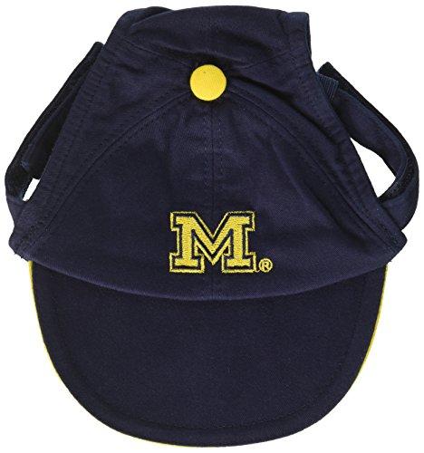 Sporty K9 Collegiate Michigan Wolverines Dog Cap, Large
