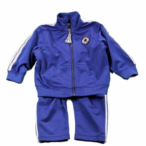 Converse Infant/Toddler Boy's Blue Track Pant & Jacket 2-Piece Set Sz: 3T
